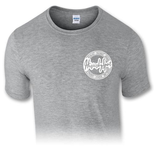 Pánske tričko – HasičskýŠport - šedé