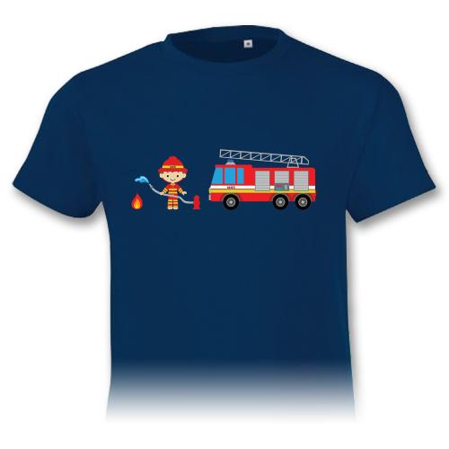 Auto a hasič – detské tričko