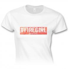 #firegirl – dámske tričko